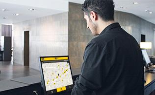 Onlinebestellung-Hotel