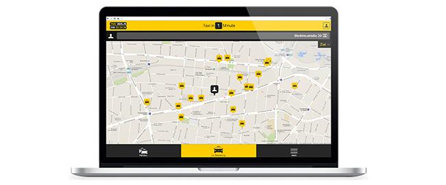 Taxi in Berlin online bestellen