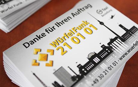 WürfelFunk-Danke-Karten