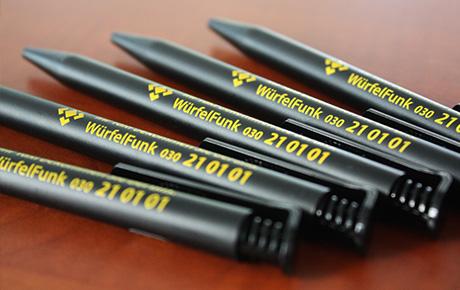 WürfelFunk-Kugelschreiber